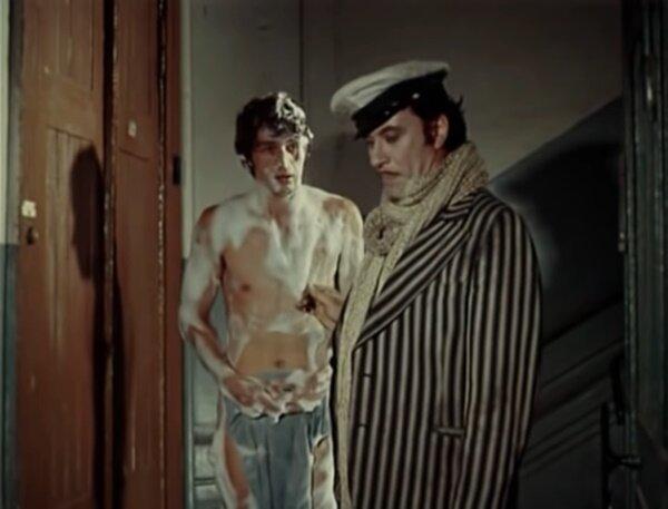 "Александр Абдулов и Андрей Миронов. ""12 стульев"" 1976 г."