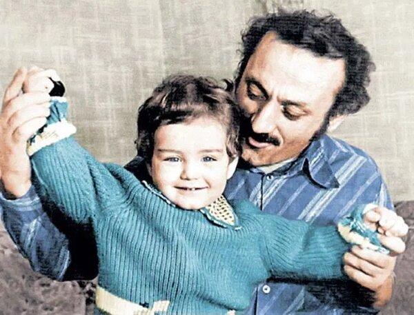 Семен Фарада с сыном Мишей