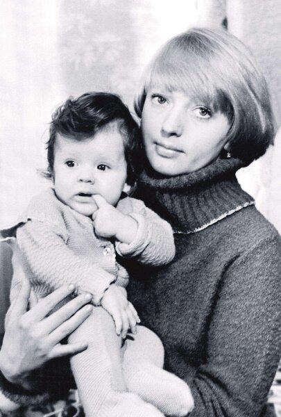 Лариса Марченко с дочерью Ниной