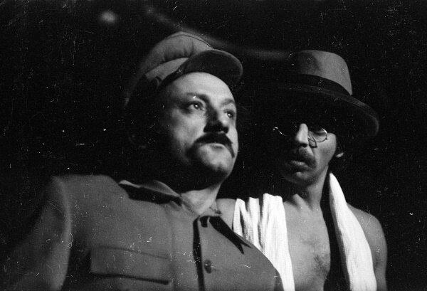 "Семен Фарада. ""Мастер и Маргарита"". Спектакль Театра на Таганке 1976 г."