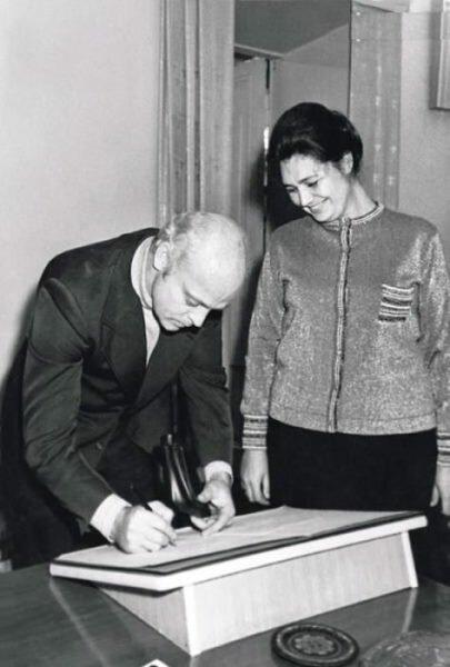 Владислав Дворжецкий и Наталья Литвиненко на свадьбе друзей