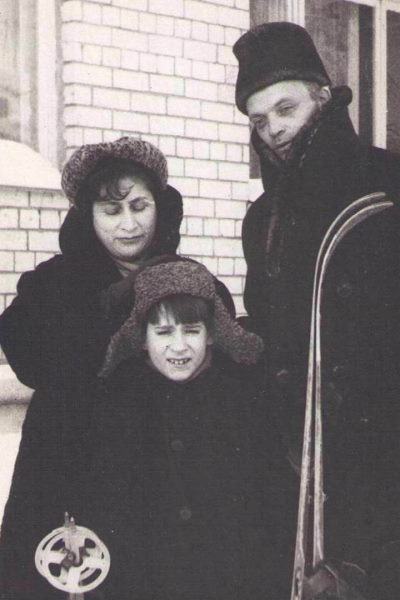 Рива Левите, Женя Дворжецкий и Владислав Дворжецкий