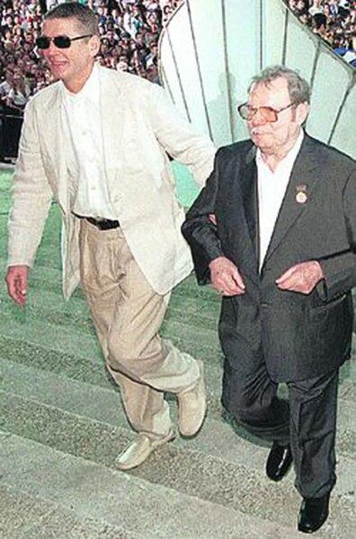 Александр Абдулов и Михаил Пуговкин. Фото kp.ru