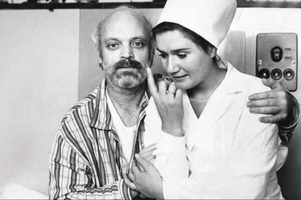 Владислав Дворжецкий и Наталья Литвиненко в Ливадийской больнице