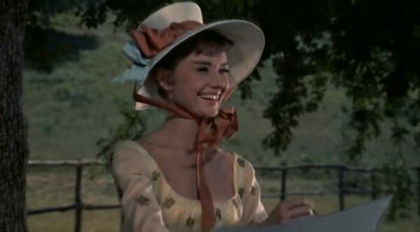 """Одри Хепберн. """"Война и мир"""" 1956 г."""