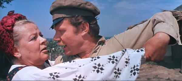 """Зоя Федорова и Михаил Пуговкин. """"Свадьбе в Малиновке"""" 1967 г."""