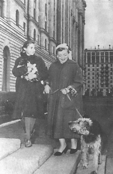 Зоя Федорова с дочерью Викторией