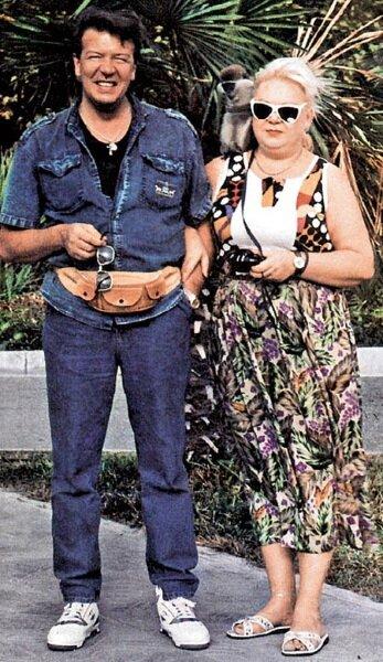 Владимир Новиков с женой Еленой