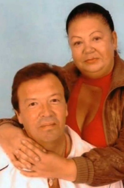 Владимир Новиков с женой Еленой Ивановной