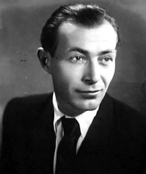 Николай Гринько в молодости