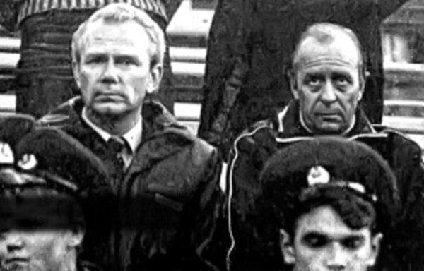 Валерий Лобановский и Олег Борисов